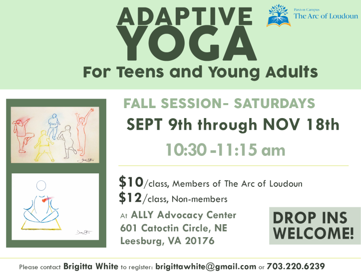 adaptive yoga fall 2017